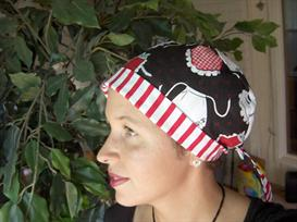 Ladies Tieback Surgical Scrub Hat Chemo Hat Sewing Pattern | Other Files | Arts and Crafts