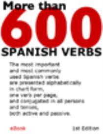 More Than 600 Spanish Verbs | eBooks | Language