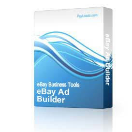 eBay Ad Builder | Audio Books | Internet