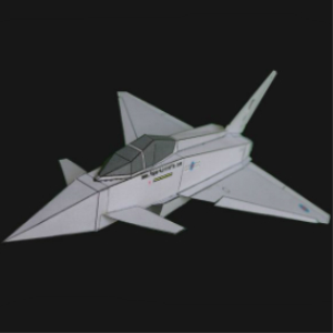 Paper Eurofighter British | Crafting | Paper Crafting | Paper Models