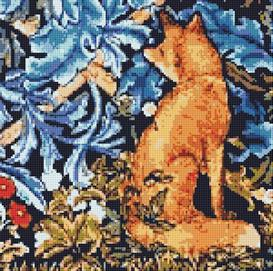 The Fox Cross Stitch Pattern | Other Files | Arts and Crafts