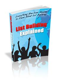 List Building Basics | eBooks | Internet