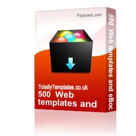 500+ Web templates and eBook | Software | Design Templates