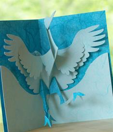Dancing Crane - EasyCutPopup | eBooks | Arts and Crafts