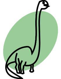 Brontosaurus - eps | Other Files | Clip Art