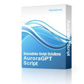 AuroraGPT Script   Software   Business   Other
