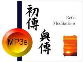 four reiki meditations as mp3 files