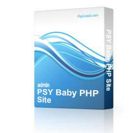 PSY Baby PHP Site | Software | Business | Other