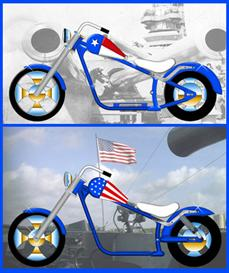 mini chopper softtail plans