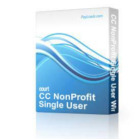 cc nonprofit single user windows