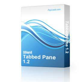 Tabbed Pane 1.2 | Software | Developer