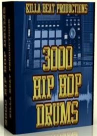 3000 Hip Hop Drums    *download* | Software | Audio and Video