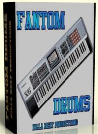 Fantom Drum Samples | Music | Soundbanks