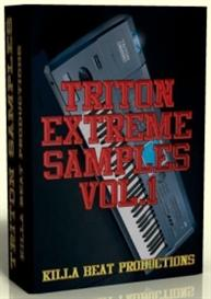 Korg Triton Extreme Sample Collection Vol.1 | Software | Audio and Video