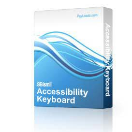 Accessibility Keyboard | Software | Developer