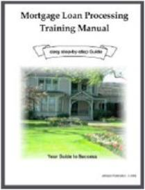 Mortgage Loan Processing Training Manual | eBooks | Business and Money