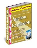 auction explosion, author maria vowell