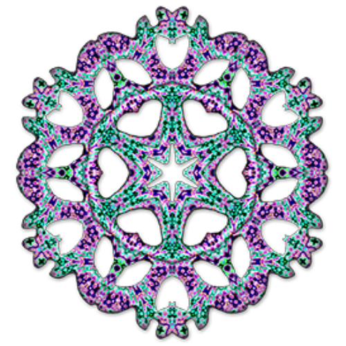 First Additional product image for - Kaleidoscope Maker for Adobe Photoshop Mac or PC