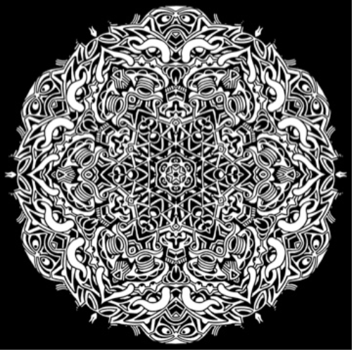 Third Additional product image for - Kaleidoscope Maker for Adobe Photoshop Mac or PC