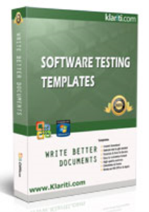 software testing templates