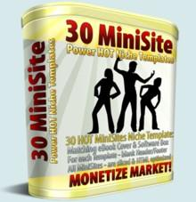 30 Hot Minisites Niche Templates | Other Files | Patterns and Templates