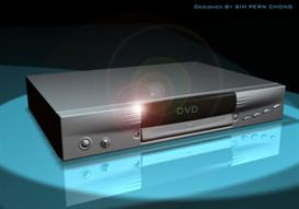 DVD Player 3D model | Other Files | Clip Art