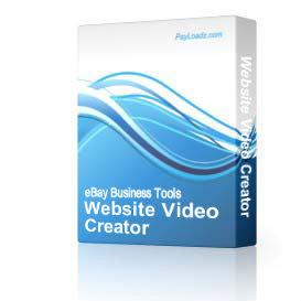 Website Video Creator | Software | Audio and Video