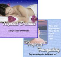 Tropical Dreams/Tropical Tranquility Package | Audio Books | Health and Well Being