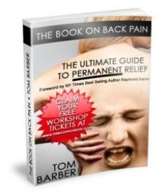 the book on back pain - glove anaesthesia technique