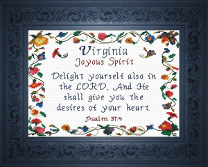 name blessings - virginia