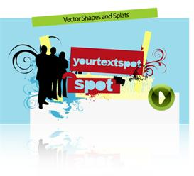 Vector Shapes & Splats | Software | Software Templates