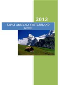 expat arrivals switzerland guide