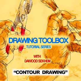 contour & blind contour drawing