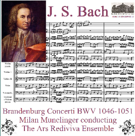 bach - brandenburg concerti, bwv 1046-1051