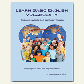 learn basic english vocabulary - american words for everyday things