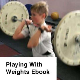 playing with weights