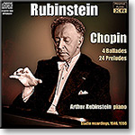 RUBINSTEIN plays Chopin Ballades and Preludes, Stereo and Ambient Stereo MP3 | Music | Classical