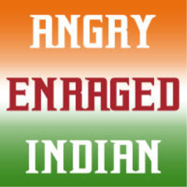 Angry Enraged Indian