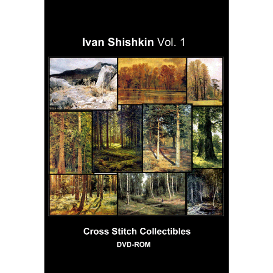 ivan shishkin dvd collection - cross stitch pattern by cross stitch collectibles