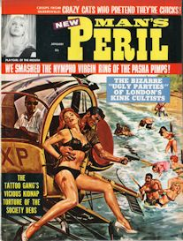 man's peril, january 1965 (complete issue)
