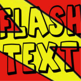 flash text (funny message tone)