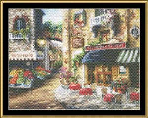 Bon Appetito   Crafting   Cross-Stitch   Wall Hangings
