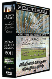 megalithomania 2011 box-set mp4's