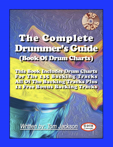 the complete drummer's guide (book of drum charts) - plus 12 free bonus backing tracks