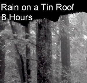 rain on a tin roof - 8 hour sleep sounds