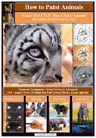 how to paint animals