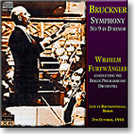 BRUCKNER 9th Symphony, Furtwangler 1944, Ambient Stereo FLAC | Music | Classical