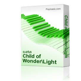child of wonder/light