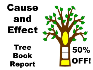 50% Off Cause & Effect Tree Book Report