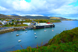 the hebrides - isle of harris ferry